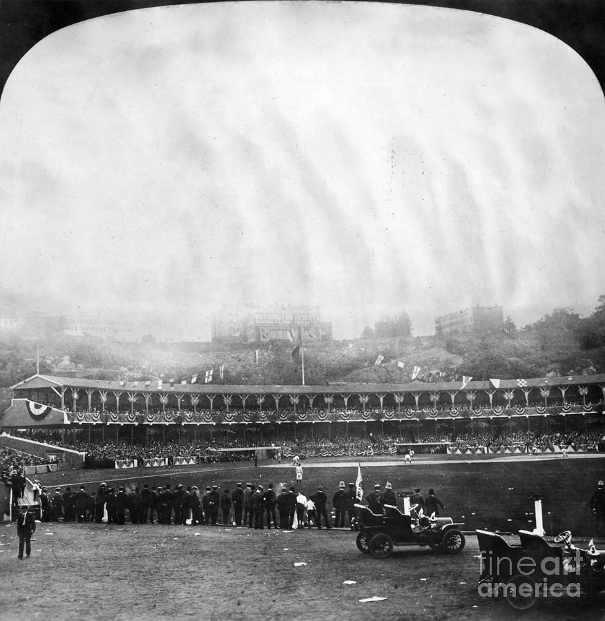 1906 Photograph - New York: Polo Grounds by Granger
