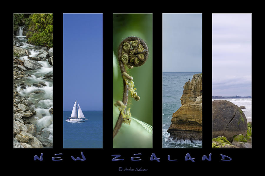 New Zealand Photograph - New Zealand by Andrea Cadwallader