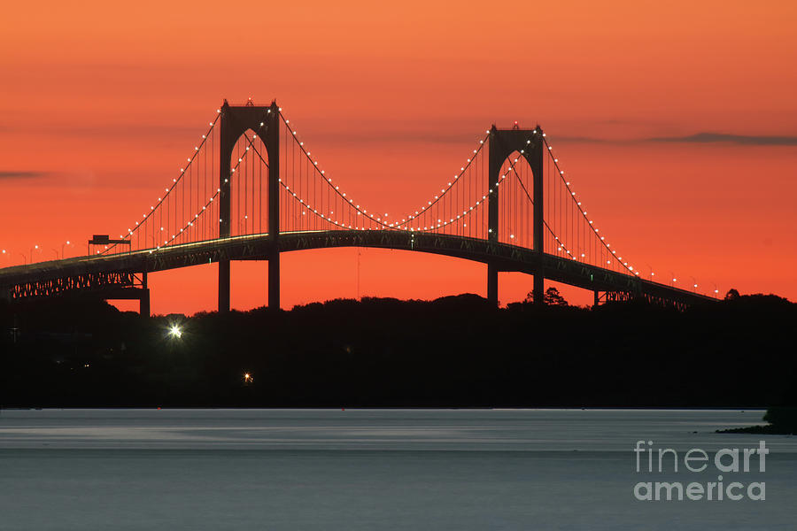 Newport Bridge Photograph