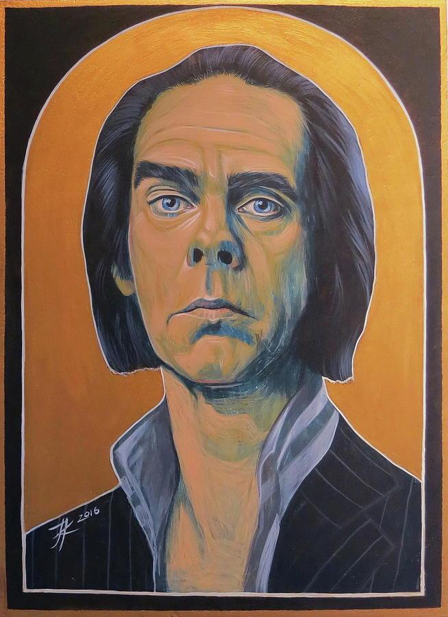 Nick Cave Painting - Nick Cave by Jovana Kolic