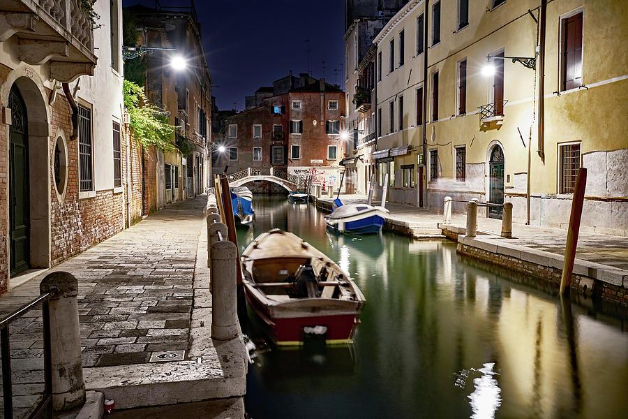 Night Canal by Marco Missiaja