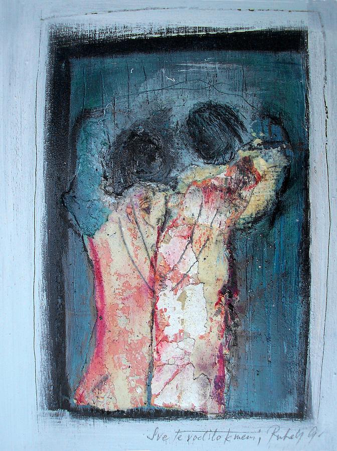 No Name Painting by Gabrijela  Rukelj