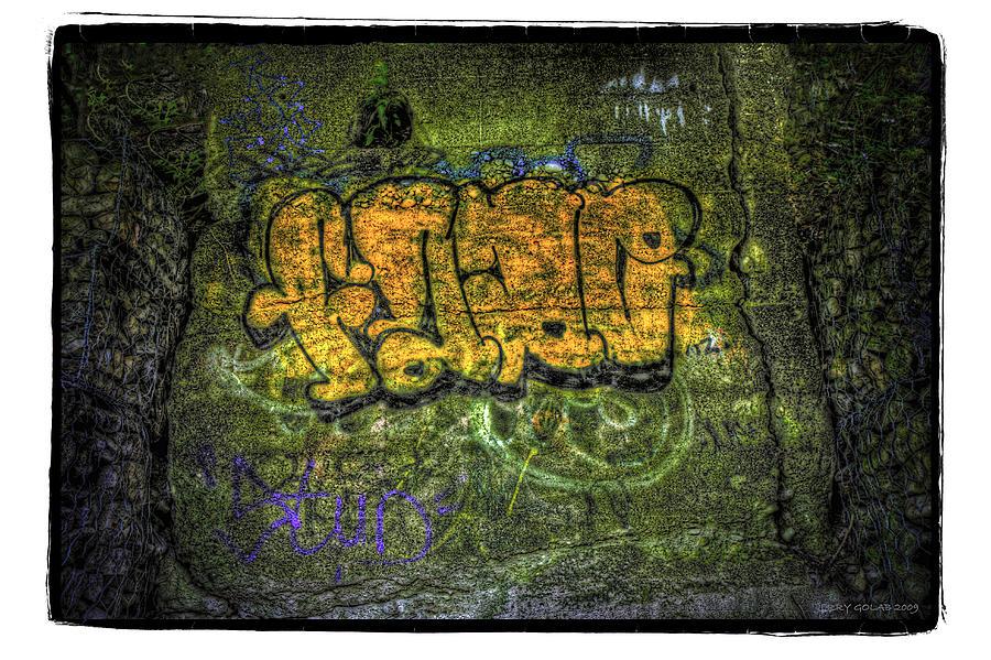 Graffiti Photograph - No.3 by Jerry Golab