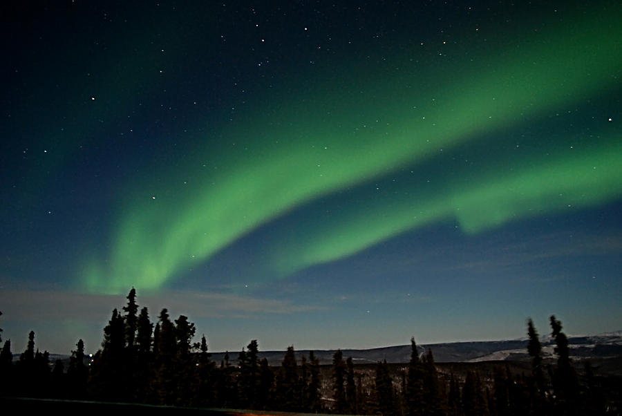 Northern Lights Fairbanks Alaska 1 Photograph By Galeria