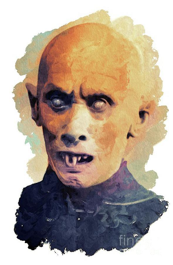 Nosferatu Painting - Nosferatu by Mary Bassett