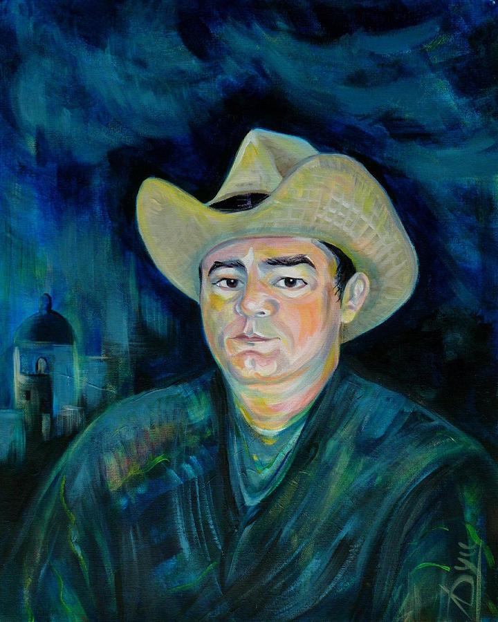 Portrait Painting - Not Eduardo by Anna  Duyunova