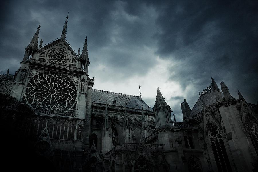 Paris Photograph - Notre Dame De Paris 1 by Cambion Art