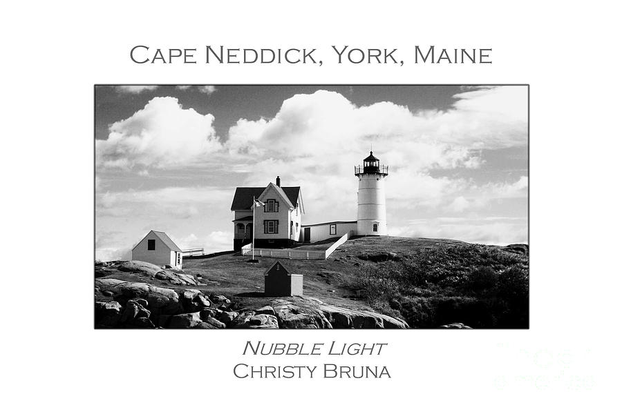 Lighthouse Photograph - Nubble Light by Christy Bruna