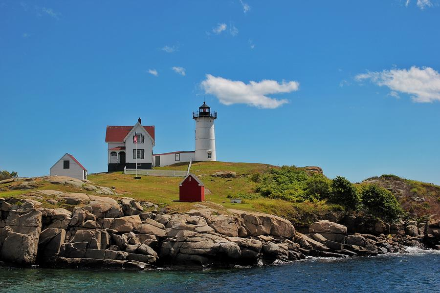Nubble lighthouse by Luisa Azzolini