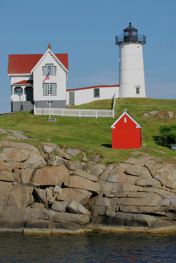 Nubble Lighthouse by Pamela Hodgdon