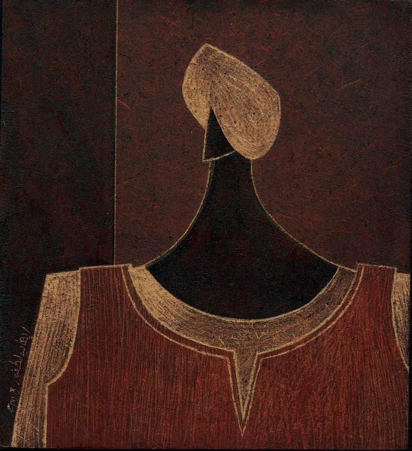 Nubian Painting by Ehab Lotfi