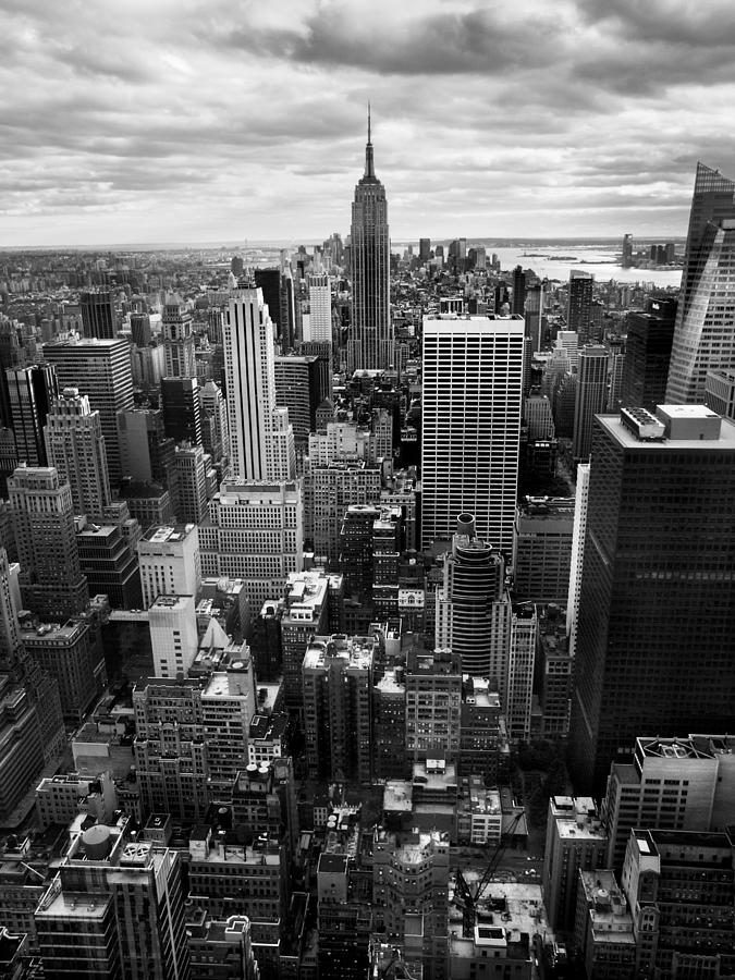 Ny Photograph - Nyc Downtown by Nina Papiorek