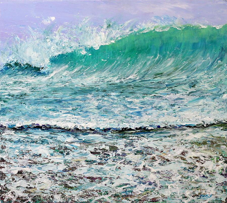 Ocean Painting - Ocean Surf by Martin Piercy