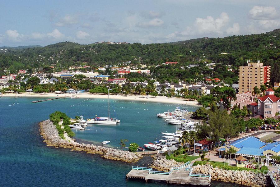 Tropical Photograph - Ocho Rios, Jamaica by Gary Wonning