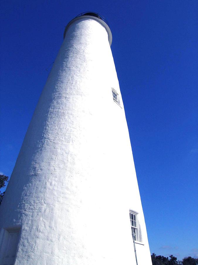 Ocracoke Photograph - Ocracoke Island Light House by Wayne Potrafka