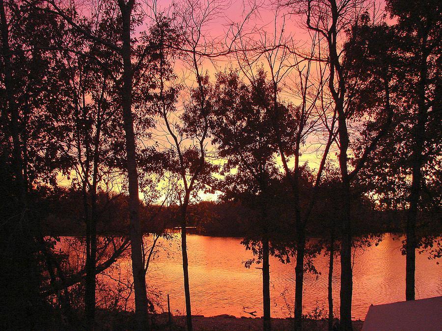 Oct. Sunset Photograph by Luciana Seymour