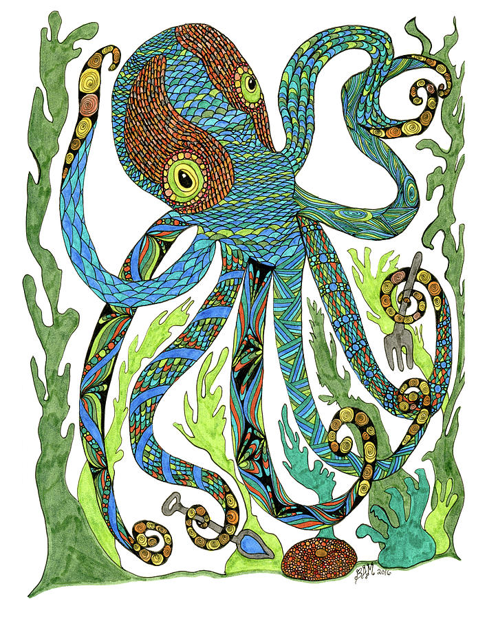 Octopus' Garden by Barbara McConoughey