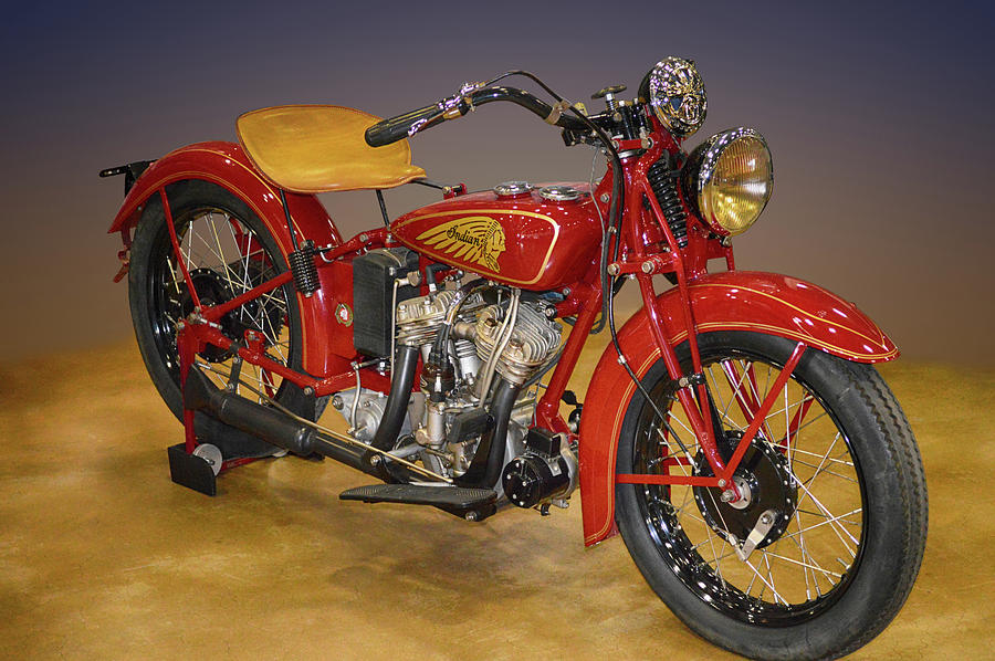 Ol Indian by Bill Dutting