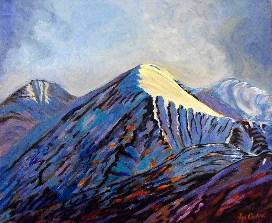 Old Painting - Old Alaska Highway by Faye Dietrich
