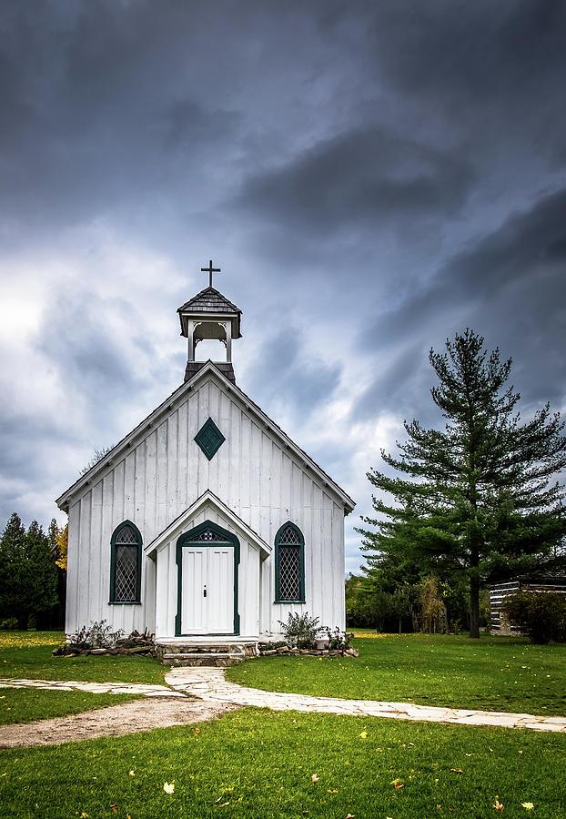 Old Church by Gabriel Israel