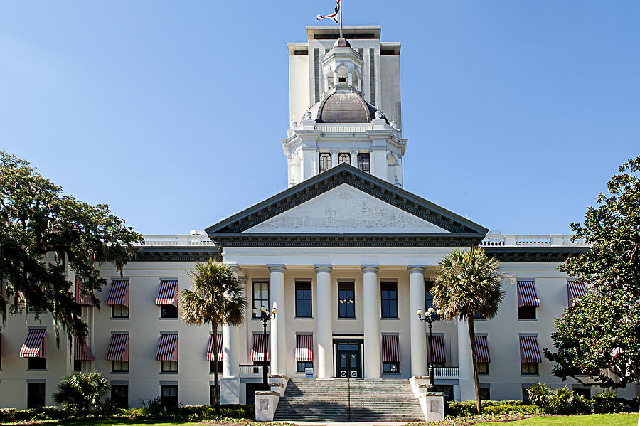 Old Florida Capitol Photograph - Old Florida Capitol by Frank Feliciano