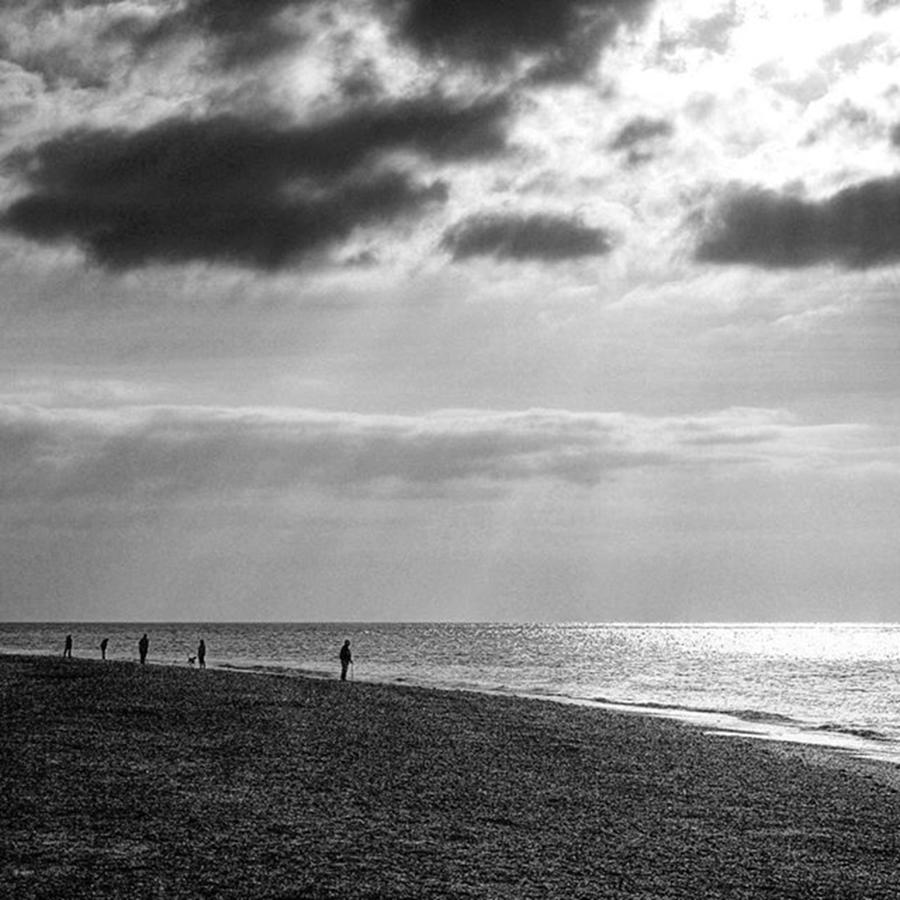Landscapelovers Photograph - Old Hunstanton Beach, Norfolk by John Edwards