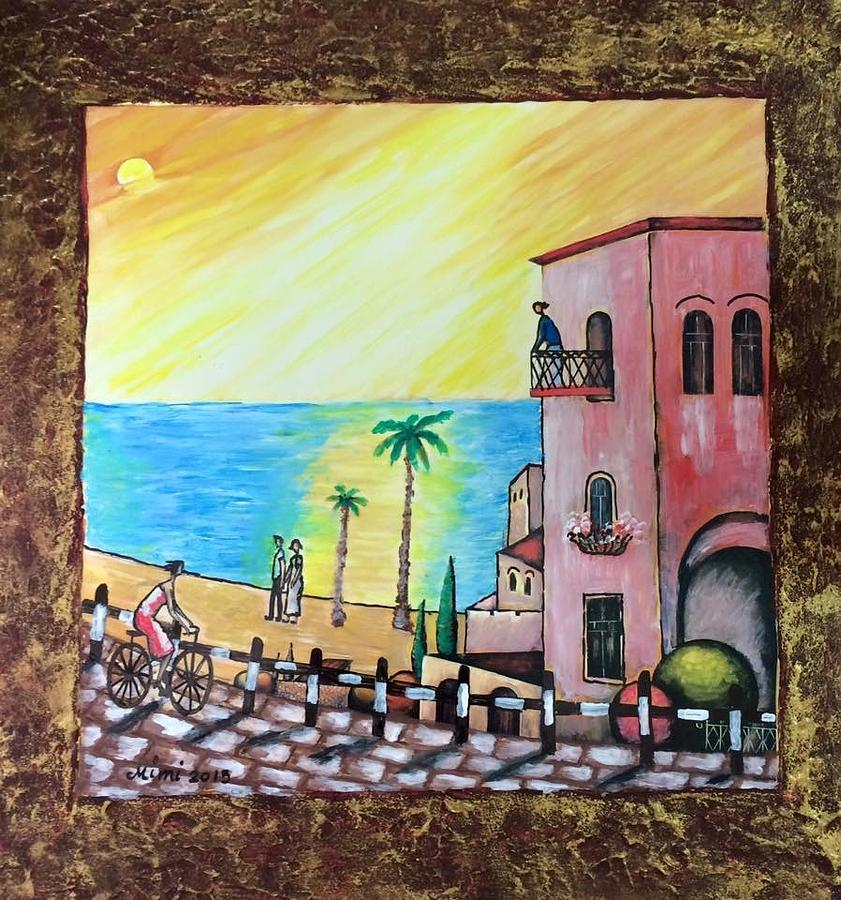 View Painting - Old Jaffa  by Mimi Eskenazi