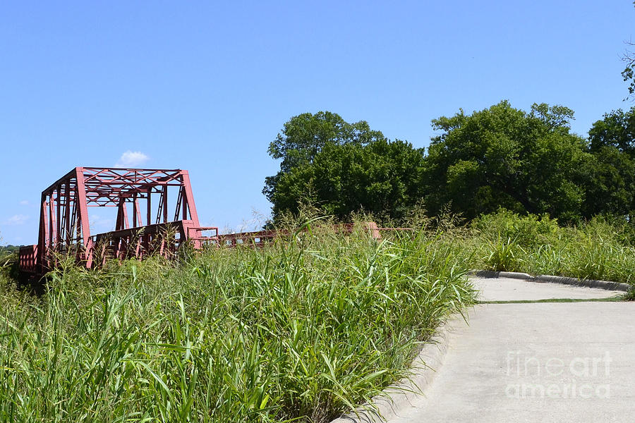 Old Metal Bridge  Photograph by Ruth  Housley