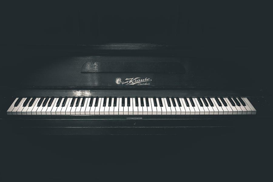Piano Photograph - Old Piano by Sotiris Filippou