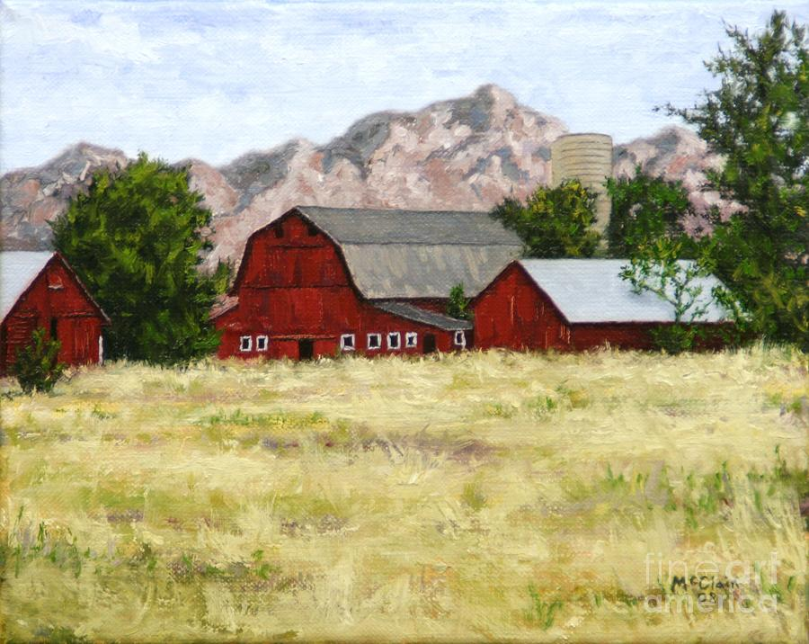 Oil Painting Painting - Old Red by Eric McClain