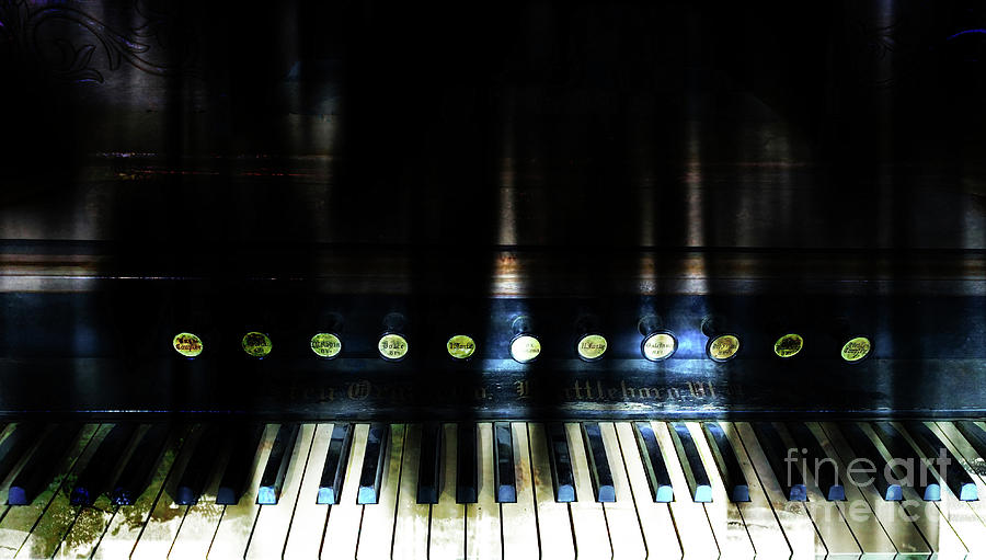 Organ Photograph - Old Sound by Steven Digman