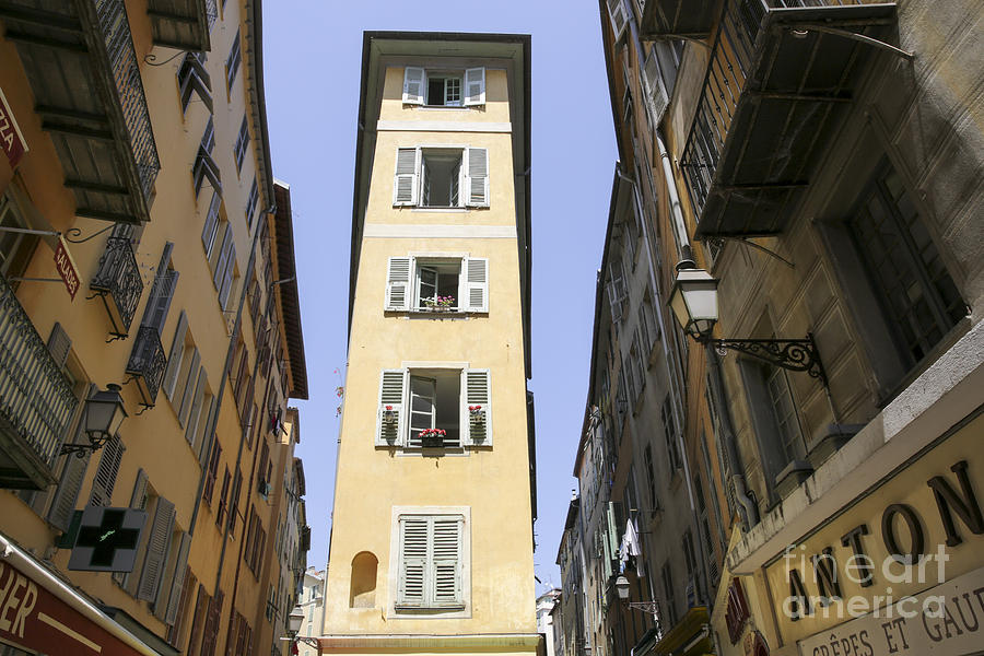 Old Town, Nice, France Photograph