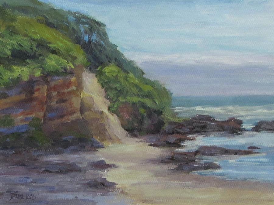 Coast Painting - On the Coast by Karen Ilari