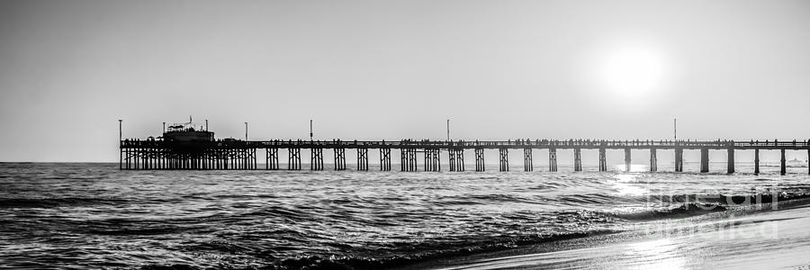 Orange County California Pier Panorama Picture Photograph