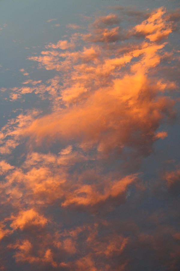 Sky Photograph - Orange Sky by Brande Barrett