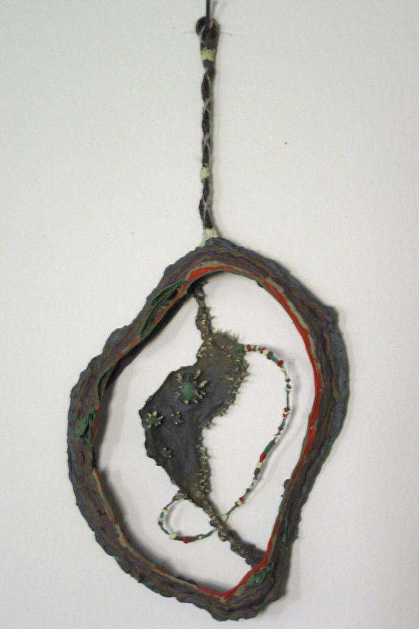 Organic Painting Sculpture by Destiny Schwartz