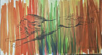 Jungle Painting - Original - Not For Sale by Jessica Evans