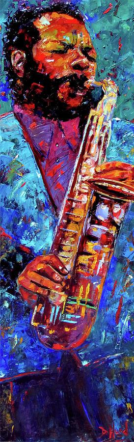 Ornette Coleman Painting - Ornette Coleman by Debra Hurd