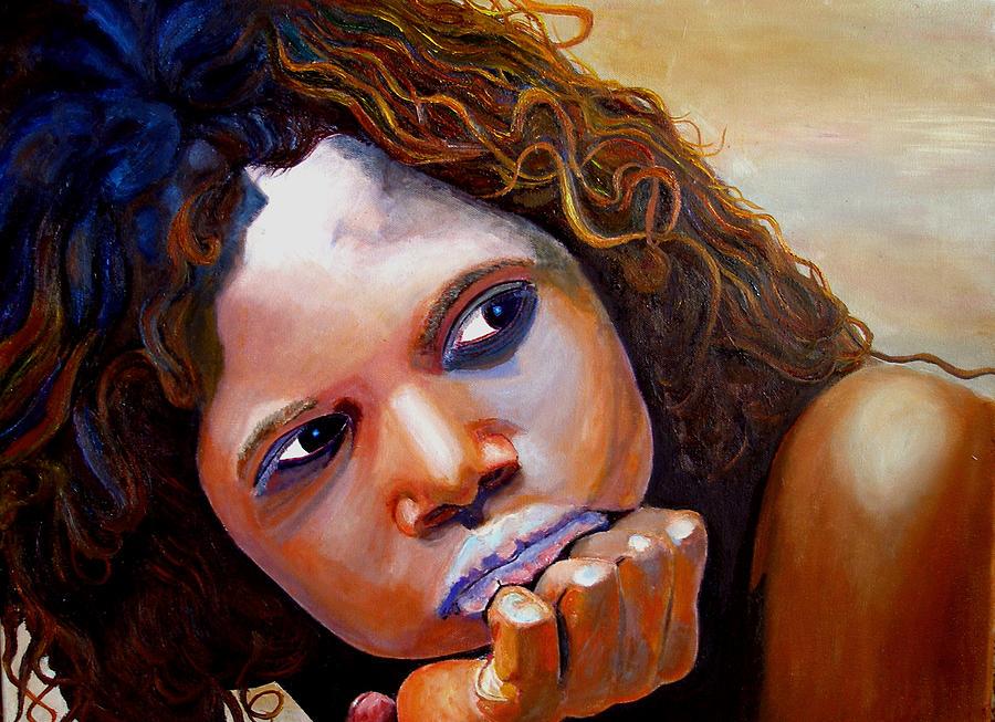 Austrailia Painting - Outback Beauty by JoeRay Kelley