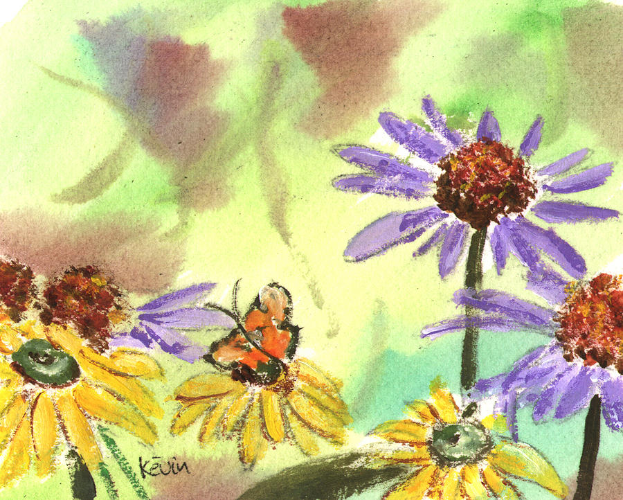 Kevin Callahan Painting - Oxbow Summer by Kevin Callahan