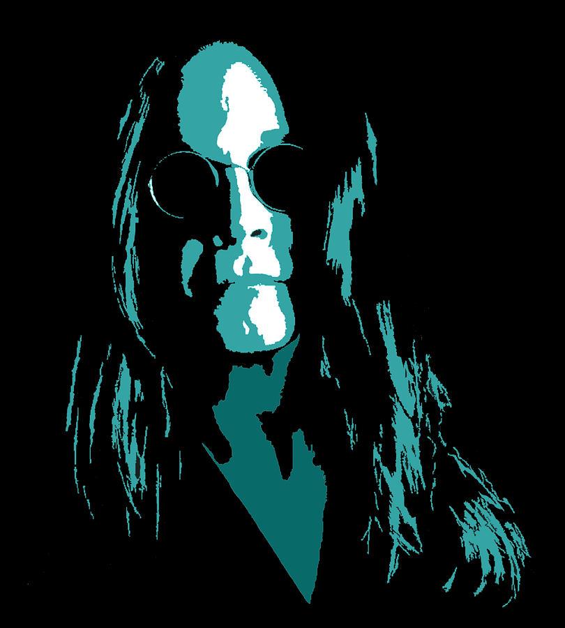 Ozzy Digital Art - Ozzy by Michael Bergman