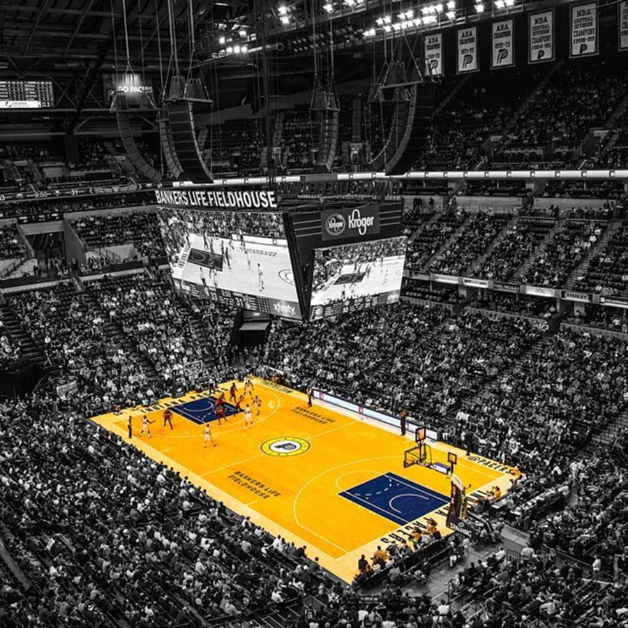 Indianapolis Photograph - #pacers #pacersgamenight #pacersvsspurs by David Haskett II
