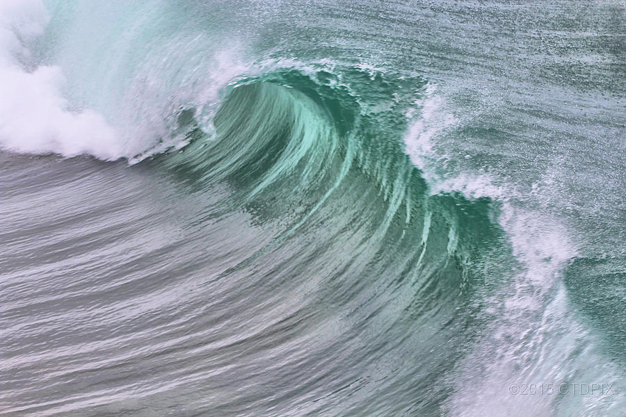 Waves Photograph - Pacific Waves by Christopher Duncan