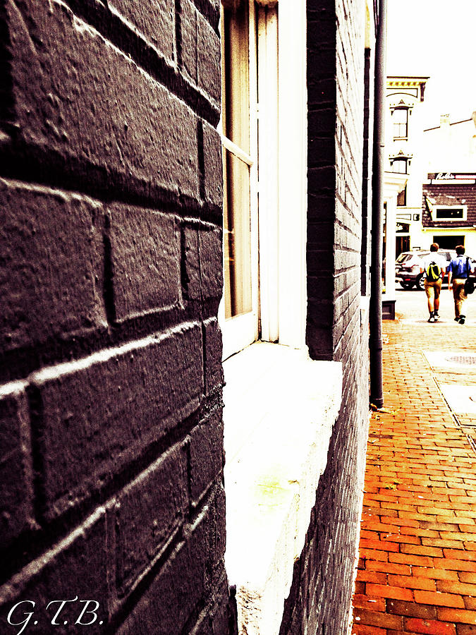 Bricks Photograph - Painted Bricks by Garrett Blum