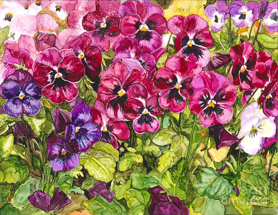Pansies by Vicki Baun Barry