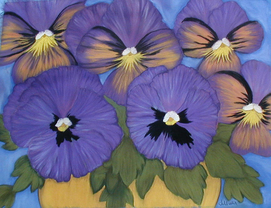 Pansy Pastel - Pansy Power by Norma Tolliver