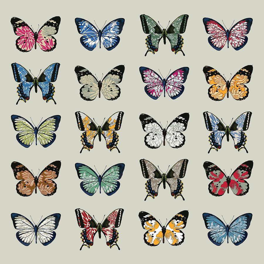 Butterfly Digital Art - Papillon by Sarah Hough