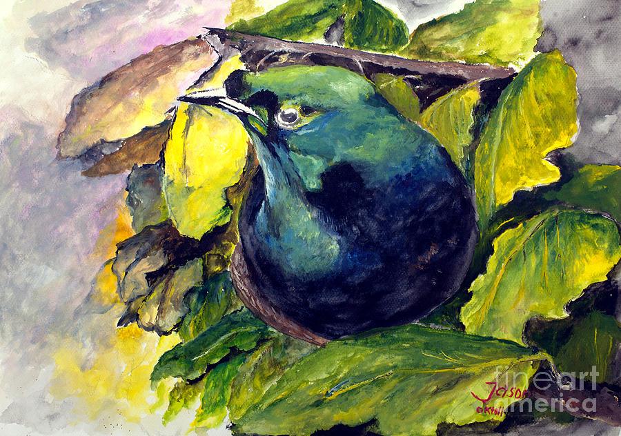 Paradise Painting - Paradise Bird by Jason Sentuf