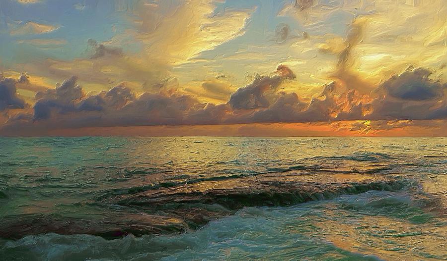 Paradise Sunset by Garvin Hunter