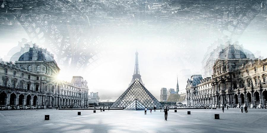Culture Photograph - Paris by Ivan Vukelic